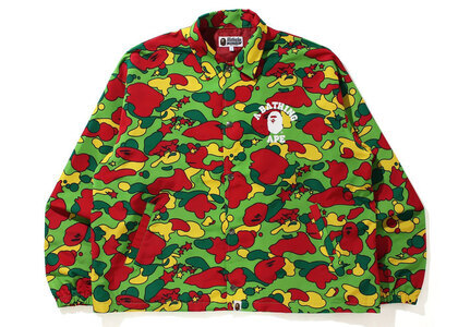 Bape STA Camo Relaxed Fit Coach Jacket Multi (SS21)の写真