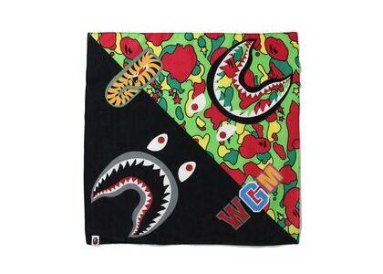 Bape STA Camo Shark Bandana Multi (SS21)の写真