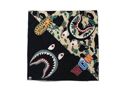 Bape STA Camo Shark Bandana Yellow (SS21)の写真