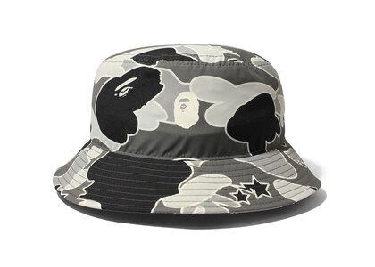 Bape STA Camo Bucket Hat Black (SS21)の写真