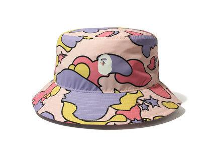 Bape STA Camo Bucket Hat Pink (SS21)の写真