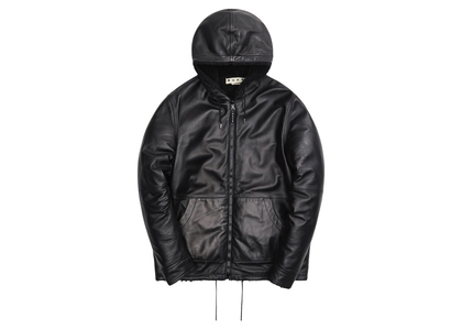 Kith Marni Sport Refined Nappa Leather Jacket Blackの写真