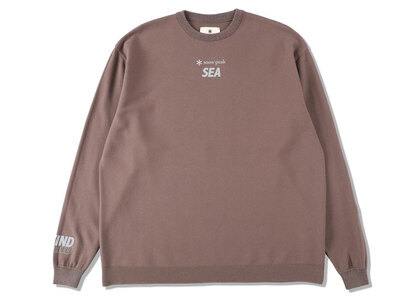 Snow Peak x WIND AND SEA CO/PE Dry L/S Tshirt Bronzeの写真