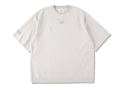 Snow Peak x WIND AND SEA CO/PE Dry S/S Tshirt Light Grayの写真