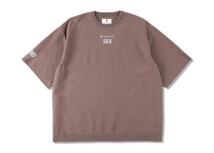 Snow Peak x WIND AND SEA CO/PE Dry S/S Tshirt Bronzeの写真