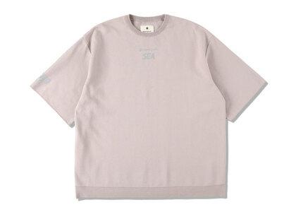 Snow Peak x WIND AND SEA CO/PE Dry S/S Tshirt Taupeの写真