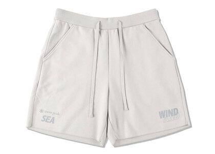 Snow Peak x WIND AND SEA CO/PE Dry Shorts Light Grayの写真