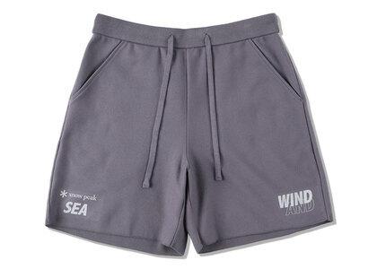 Snow Peak x WIND AND SEA CO/PE Dry Shorts Dark Grayの写真