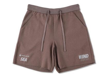 Snow Peak x WIND AND SEA CO/PE Dry Shorts Bronzeの写真