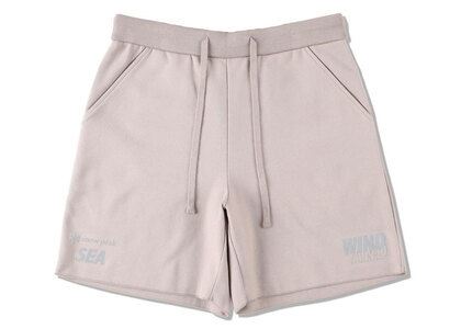 Snow Peak x WIND AND SEA CO/PE Dry Shorts Taupeの写真