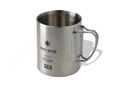 Snow Peak x WIND AND SEA Stainless Vacuum Mug (300ML) One Silverの写真