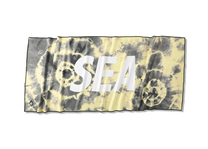 Nomadix x WIND AND SEA Camp Towel Yellow/Tie-Dyeの写真
