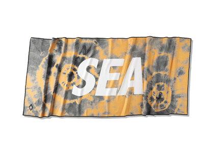 Nomadix x WIND AND SEA Camp Towel Brown/Tie-Dyeの写真