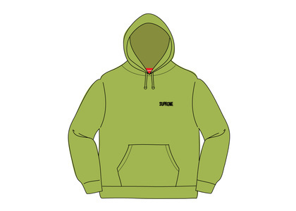 Supreme Restless Youth Hooded Sweatshirt Limeの写真