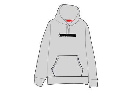 Supreme Motion Logo Hooded Sweatshirt (SS20) Ash Greyの写真