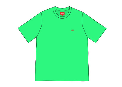 Supreme Small Box Tee (SS20) Bright Greenの写真