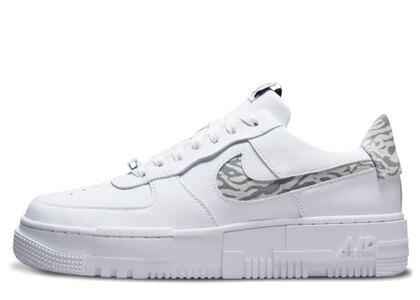 Nike Air Force 1 Low Pixel White/Zebra Womensの写真
