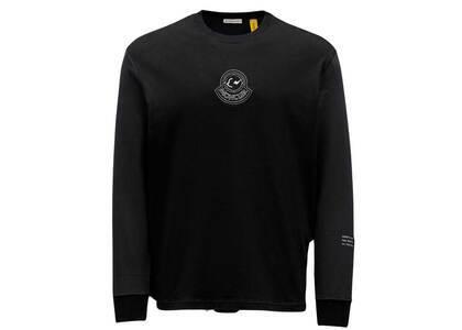Fragment × Moncler L/S T-Shirt Blackの写真