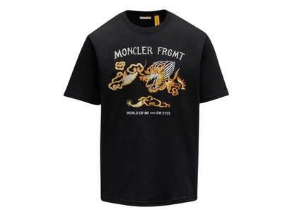 Fragment × Moncler Dragon Print T-Shirt Blackの写真