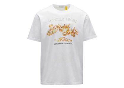 Fragment × Moncler Dragon Print T-Shirt Whiteの写真