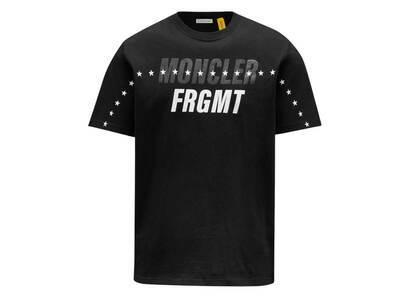 Fragment × Moncler Star Print T-Shirt Blackの写真
