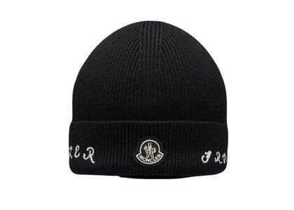 Fragment × Moncler Logo Knit Cap Blackの写真
