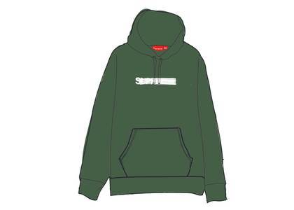 Supreme Motion Logo Hooded Sweatshirt (SS20) Light Pineの写真