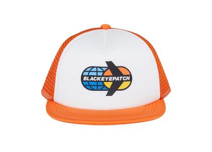 The Black Eye Patch Star Flyer Mesh Cap Orangeの写真
