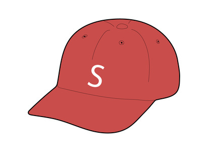 Supreme Terry S Logo 6 Panel Red (SS21)の写真