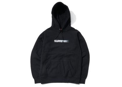Supreme Motion Logo Hooded Sweatshirt (SS20) Blackの写真