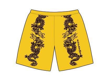 Supreme Dragon Water Short Yellow (SS21)の写真