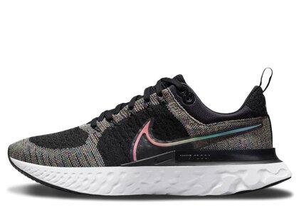 Nike React Infinity Run Flyknit 2 Be True Black/Pink Blastの写真