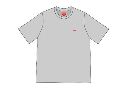 Supreme Small Box Tee (SS20) Heather Greyの写真