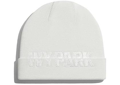 adidas Ivy Park Cut-Off Logo Beanie Core White (SS21)の写真
