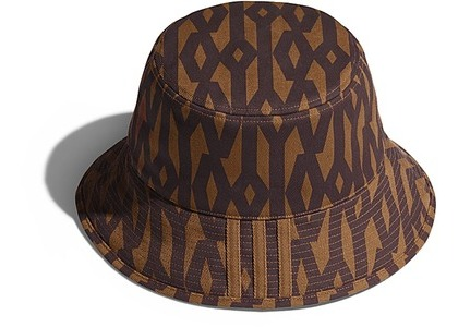 adidas Ivy Park Reversible Monogram Bucket Hat Wild Brown (SS21)の写真