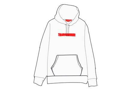 Supreme Motion Logo Hooded Sweatshirt (SS20) Whiteの写真