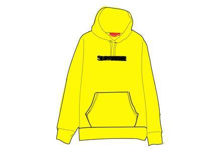 Supreme Motion Logo Hooded Sweatshirt (SS20) Lemonの写真
