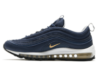 Air Max 97 Midnight Navy Metallic Goldの写真