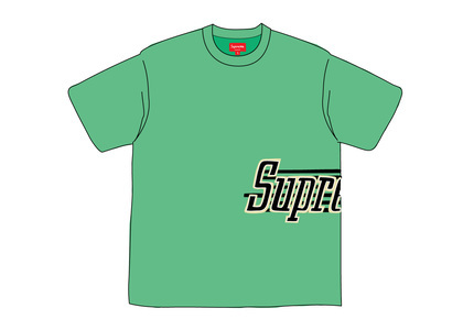 Supreme Side Logo S-S Top Greenの写真