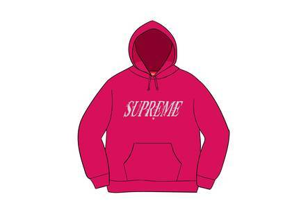 Supreme Crossover Hooded Sweatshirt Fuchsiaの写真