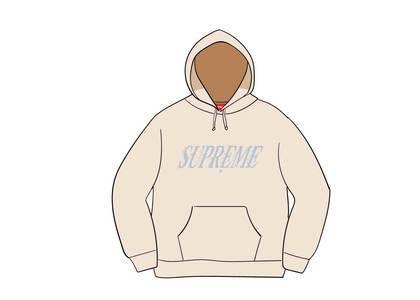 Supreme Crossover Hooded Sweatshirt Naturalの写真