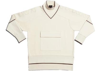 adidas Ivy Park Sweatshirt Ecru Tint/Maroon (FW19)の写真