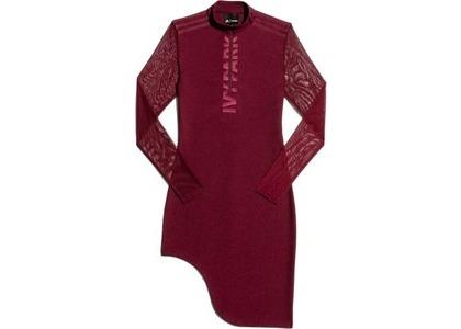 adidas Ivy Park Asymmetrical Dress Maroon (FW19)の写真
