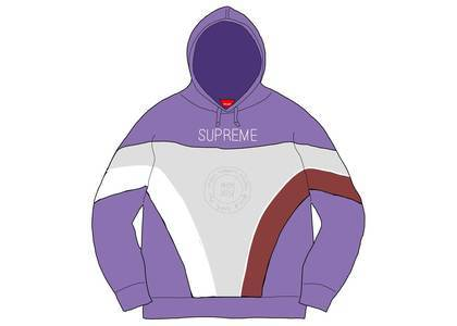Supreme Milan Hooded Sweatshirt Light Violetの写真