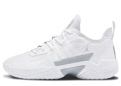Nike Jordan One Take 2 PF White/Metaric Silverの写真