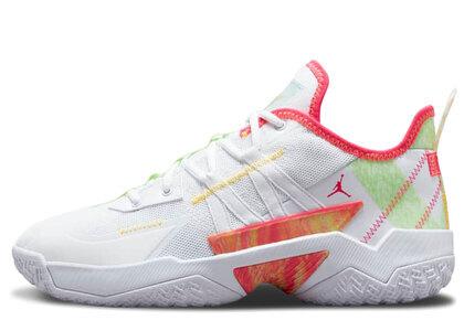 Nike Jordan One Take 2 PF White/Lime Growの写真