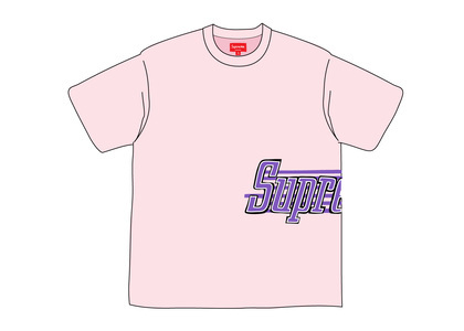 Supreme Side Logo S-S Top Pinkの写真