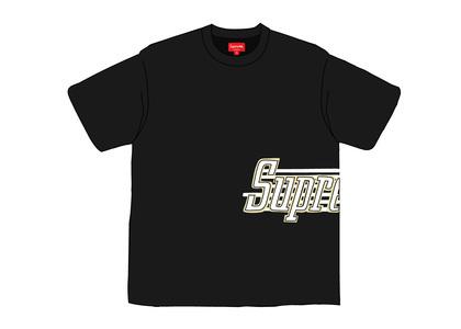 Supreme Side Logo S-S Top Blackの写真
