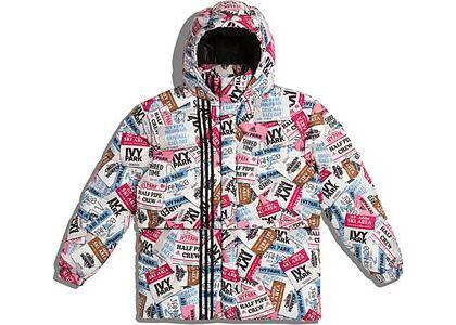 adidas Ivy Park Ski Tag Puffer Jacket (All Gender) Multicolor (SS21)の写真