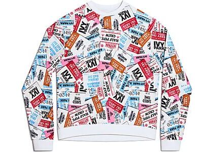 adidas Ivy Park Ski Tag Crew Sweatshirt (All Gender) Multicolor (SS21)の写真